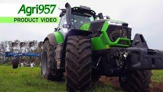 getlinkyoutube.com-BIGGEST DEUTZ-FAHR 9340 TTV and LEMKEN JUWEL 8 - RAINY PLUGHING TEST | Agri957 & A come Agricoltura