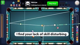 8 Ball Pool i Find Your Lack Of Skill Disturbing On Berlin (Indirects) 150M w/ Kraken & Atlantis Cue