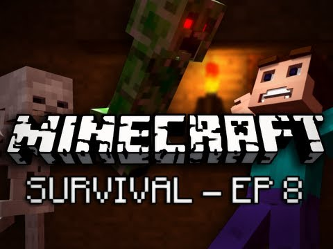 Minecraft: Survival Let's Play Ep. 8 - The Dying Jungle