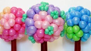 getlinkyoutube.com-Цветочный шар дерево / Ball of flowers (Subtitles)