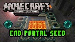 getlinkyoutube.com-Minecraft PE: END PORTAL SEED 2016
