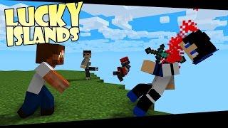 getlinkyoutube.com-Minecraft - Lucky Islands - Dödar Hela Haket, Såklart!
