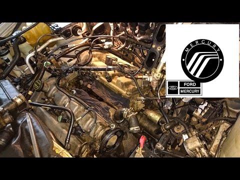 Форд Эскейп/Меркури Маринер 3.0 V6. Утечка антифриза.