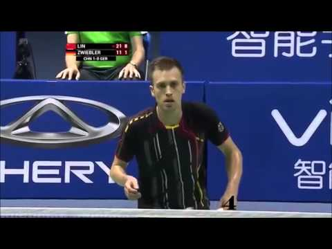 Top 15 men's singles badminton rallies 2015