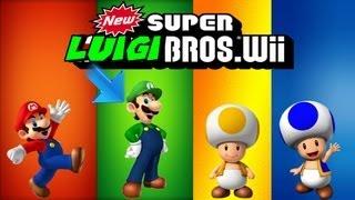 getlinkyoutube.com-New Super Luigi Bros. Wii: Part 1