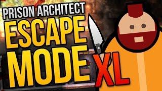getlinkyoutube.com-BIGGER, BETTER, BLOODIER - Prison Architect Escape Mode XL Episode ★ Escape Mode Gameplay