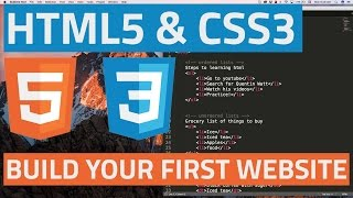 HTML5 and CSS3 beginner tutorial 2 - Creating your first website