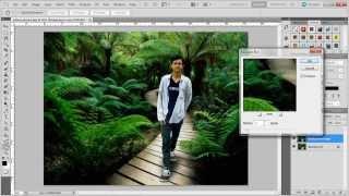 getlinkyoutube.com-Tutorial Photoshop - Mengganti Background Dengan Cepat dan Mudah