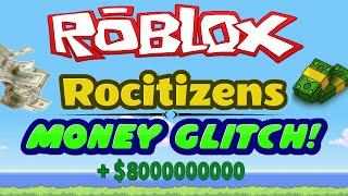 getlinkyoutube.com-Rocitizens: MONEY GLITCH 5.0! [WORKING] [SEPTEMBER 2016] (Roblox) EARN 1 TRILLION?!?