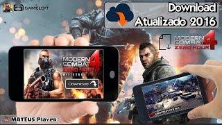 getlinkyoutube.com-COMO BAIXAR Modern Combat 4: Zero Hour DIRETO NO ANDROID (Atualizado 2016)