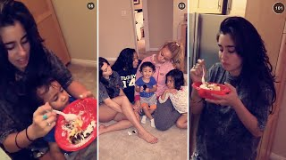 getlinkyoutube.com-Dinah Jane | October 18th 2015 | FULL SNAPCHAT STORY (featuring Lauren Jauregui)