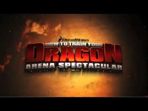 How To Train Your Dragon Arena Spectacular - Australia