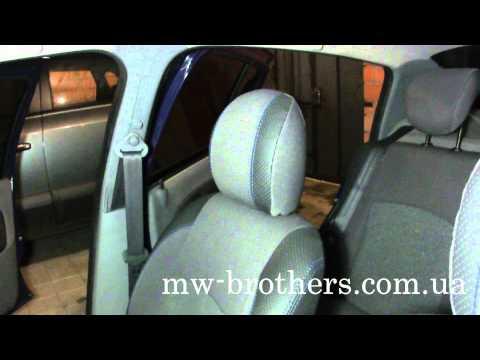 Чехлы для Renault Clio (MW Brothers)
