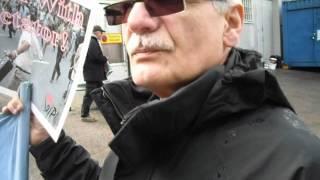 تظاهرات برای عدم دیپورت حسین جاسبی. پارت دوم.