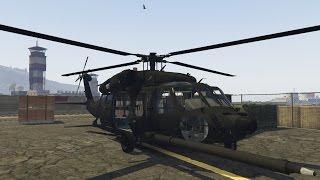 getlinkyoutube.com-GTA V MH-60L Black Hawk (gunner) (MOD)