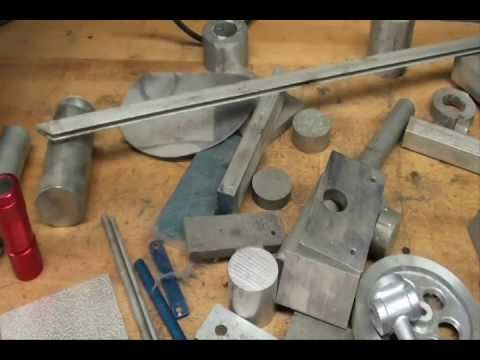 MACHINE SHOP TIPS #85 Identifying Metals Pt 1 tubalcain
