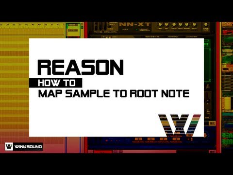 Propellerhead Reason: How To Map Sample To Root Note | WinkSound