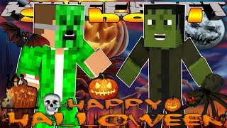 getlinkyoutube.com-Minecraft School -VISITING HALLOWEEN TOWN & FRANKENSTEIN #3 w/Little Lizard & Tiny Turtle