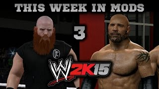 WWE 2K15 PC Mods Week 3: Goldberg Added to the Game!