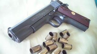 getlinkyoutube.com-Colt 1911 Government model (live fire)  BATJAC J.W