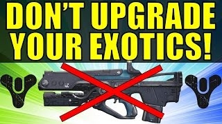 getlinkyoutube.com-DON'T UPGRADE YOUR EXOTIC GEAR! (Destiny)