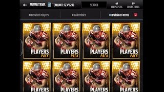 getlinkyoutube.com-Madden NFL 16 Mobile Gameplay - Players Pack Bundle Opening! Topper w/1 ELITE Season Veteran