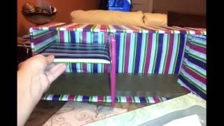 getlinkyoutube.com-Como usar cajas de carton para organizador