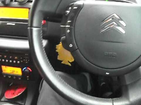 Citroen C4 Fixed-Hub Steering Wheel