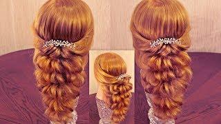 getlinkyoutube.com-Hair tutorial - Причёска с помощью резинок - Красота! - Hairstyles by REM