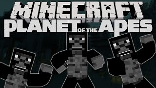 getlinkyoutube.com-Minecraft Mod Showcase: PLANET OF THE APES | A New Crazy Dimension!