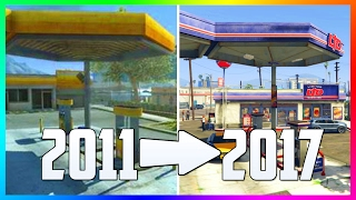 getlinkyoutube.com-WHAT GTA 5 LOOKED LIKE IN 2011 VS NOW IN 2017 - WHAT GRAND THEFT AUTO 5 WAS LIKE BEFORE RELEASE!