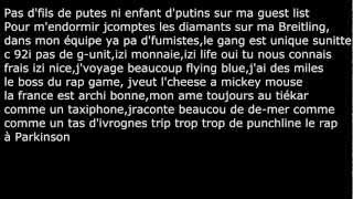Booba-Abracadabra (Paroles)