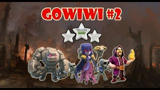 getlinkyoutube.com-GoWiWi #2: Attack TH9 with Golem Wizard Witch 3 Star War Strategy