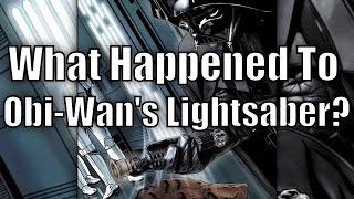 getlinkyoutube.com-What Happened to Obi Wan's Lightsaber after his Death?