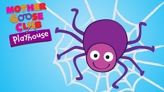 getlinkyoutube.com-Eensy Weensy Spider | Mother Goose Club Playhouse Kids Video