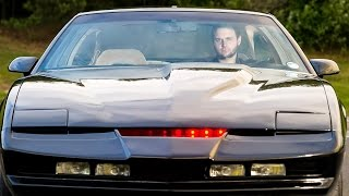getlinkyoutube.com-Real Life Knight Rider: Fan Spends £18,000 Recreating Iconic Car