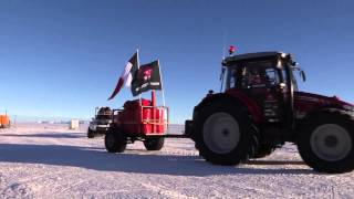 Massey Ferguson The Antarctica2 Crew sets off for the South Pole!