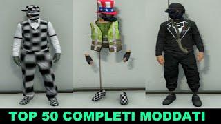 getlinkyoutube.com-TOP 50 COMPLETI MODDATI (MODDED OUTFITS ) GTA 5 ITA DAJEE !!