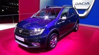 getlinkyoutube.com-2017 Dacia Sandero Stepway Easy-R - Exterior and Interior - Paris Auto Show 2016