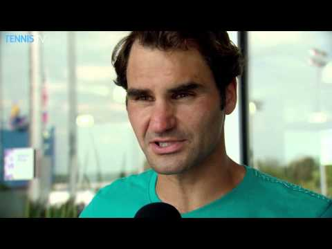 Federer Reflects on title - Cincinnati 2015