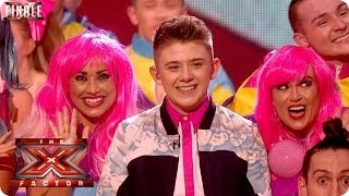 Nicholas McDonald sings Candy by Robbie Williams - Live Final Week 10 - The X Factor 2013