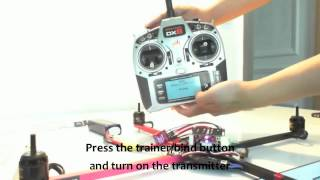 getlinkyoutube.com-How to make a quadcopter step 6 bind the receiver and the transmitter