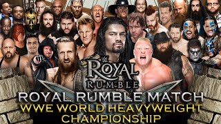 getlinkyoutube.com-WWE Royal Rumble 2016 - Royal Rumble Match (WWE World Heavyweight Championship) - WWE 2K16