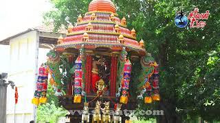 சரவணை - தேவபுரம் ஸ்ரீ கதிர்வேலாயுத சுவாமி கோவில் தேர்த்திருவிழா 24.07.2021