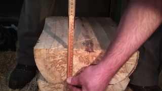 Wie ich mein Holz vor dem Trocknen vorbereite [HD]