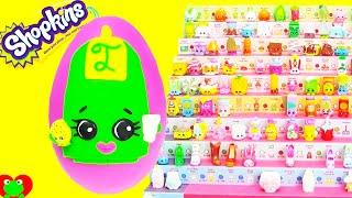 Shopkins Season 2 Lee Tea Play Doh Surprise Egg Limited Edition Hunt