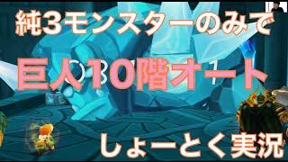 getlinkyoutube.com-【サマナーズウォー】純3パーティで巨人10階をオート攻略(平均3分30秒)