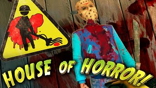 getlinkyoutube.com-Viscera Cleanup Detail - FREDDY & JASON  ! - Viscera House of Horror DLC Gameplay