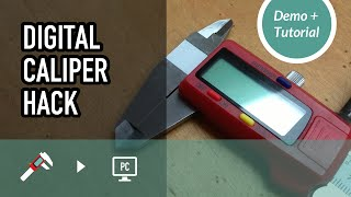 getlinkyoutube.com-Digital Caliper Hack for rapid prototyping 3D Modeling