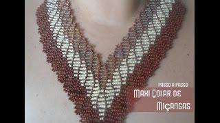 getlinkyoutube.com-NM Bijoux - Maxi colar de miçangas